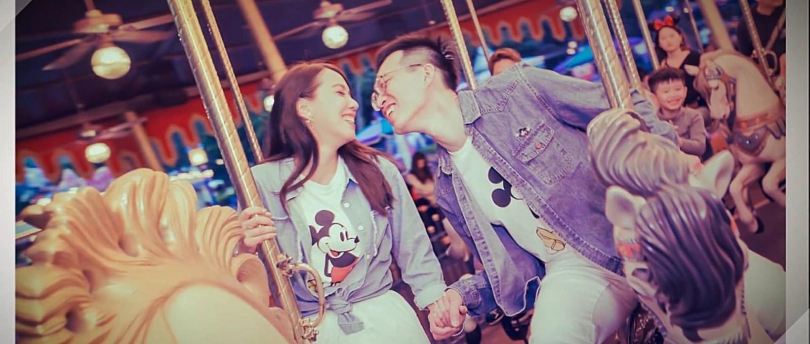 香港迪士尼-結婚-精華版-推薦-雲朵婚禮錄影