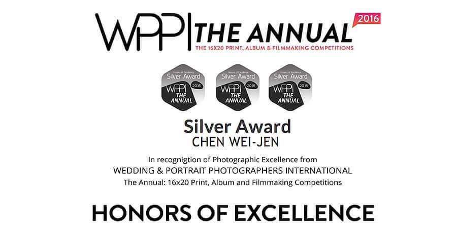 wppi國際婚禮錄影競賽三面銀獎-雲朵婚禮錄影