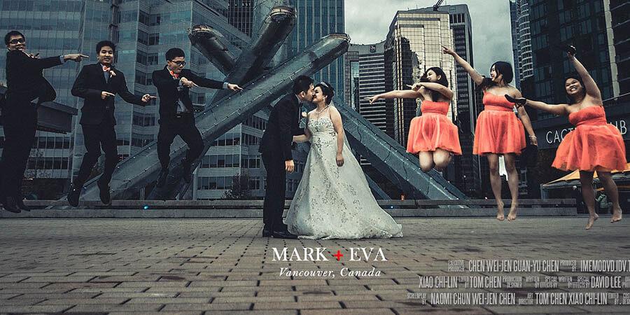加拿大溫哥華海外婚禮-雲朵婚禮錄影