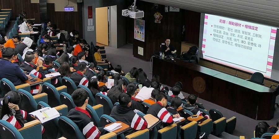 台北市大安高工職場達人講座-雲朵婚禮錄影