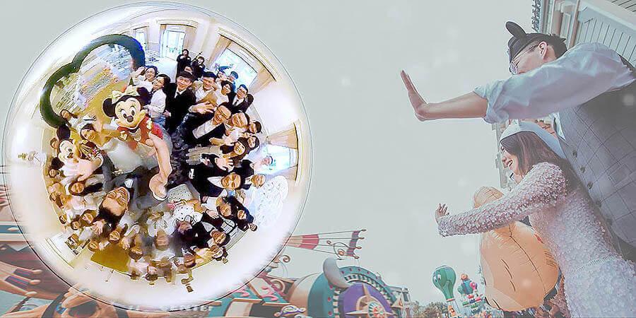 香港迪士尼海外婚禮-雲朵婚禮錄影