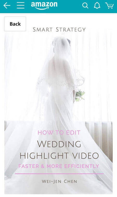 Smart Strategy: How to Edit Wedding Highlight Video Faster and More Efficiently 電子書封面,雲朵婚禮總監Tom陳出版電子書著作,新娘站力於窗前拍攝窗光婚紗照