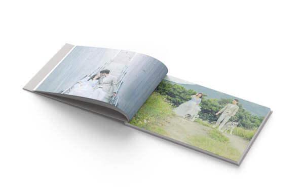 雲朵輕婚紗翻頁A4精緻相本書20頁相本書