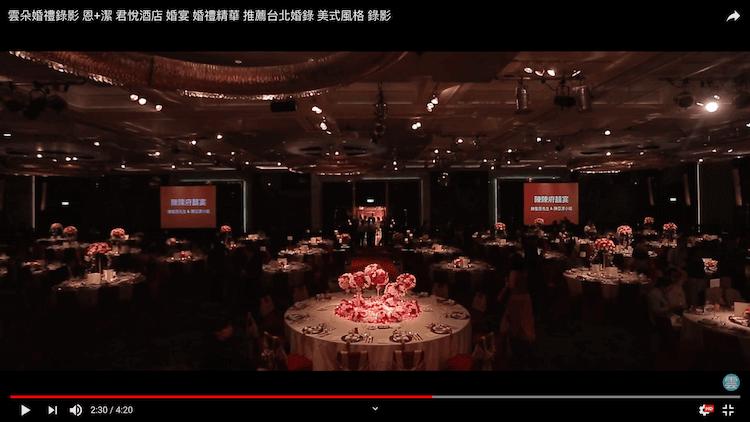 台北君悅酒店大型婚宴會場