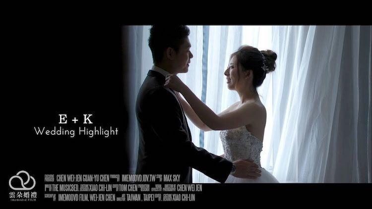 E+K 板橋凱薩飯店 錄影主+拍照輔 – 雲朵婚禮錄影|質感系台北婚錄 10