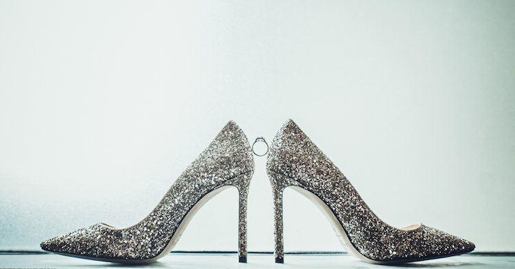 婚鞋與婚戒