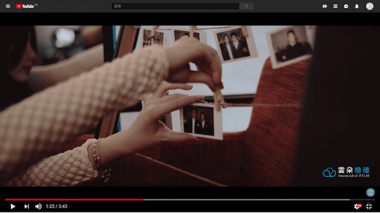 婚禮布置夾拍貼機照片