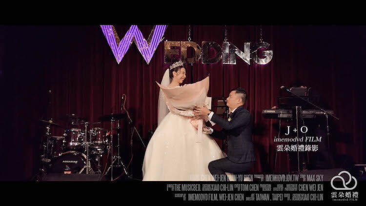 J + O 台北W Hotel婚禮MV – 雲朵婚禮錄影|質感系台北婚錄 2019 1