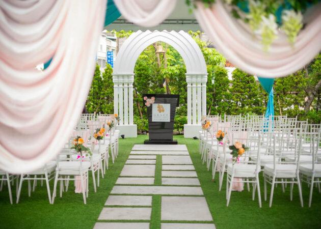 青青格麗絲戶外證婚儀式